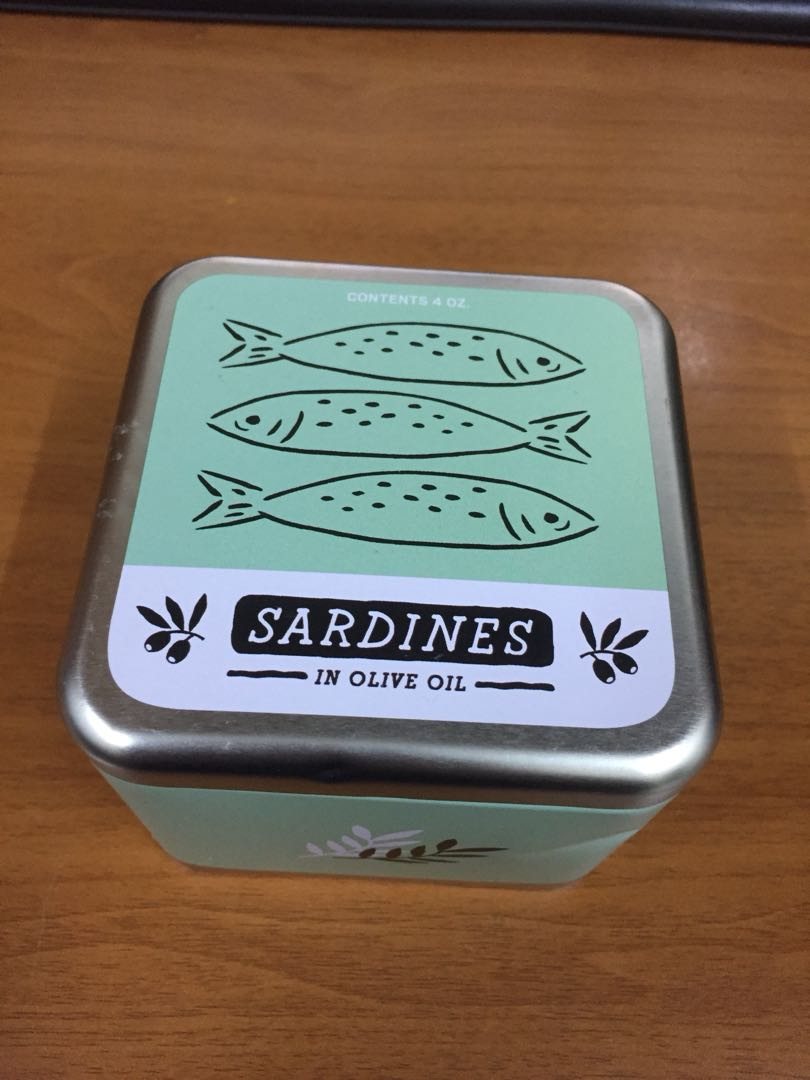 Fossil Watch (Sardines in olive oil)