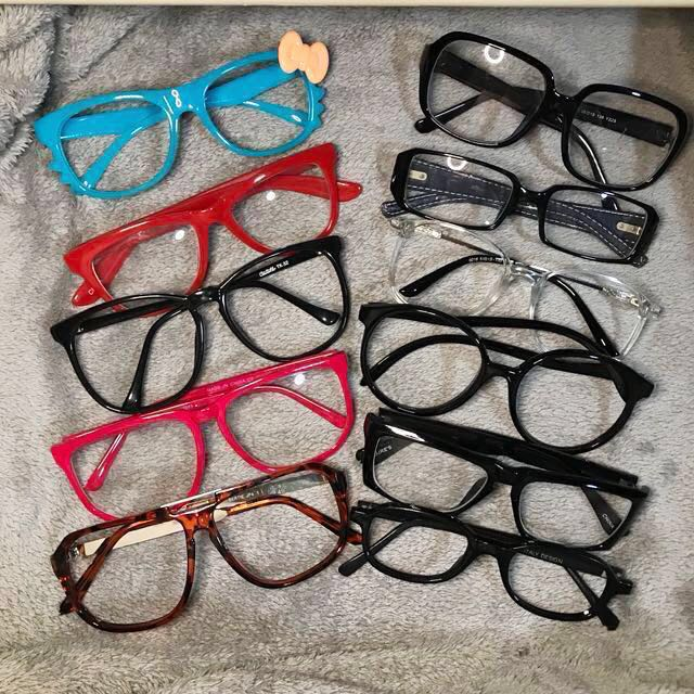 647349fa21 Geek Specs Glasses ASOS Forever 21 Red Black Blue White Spectacle ...