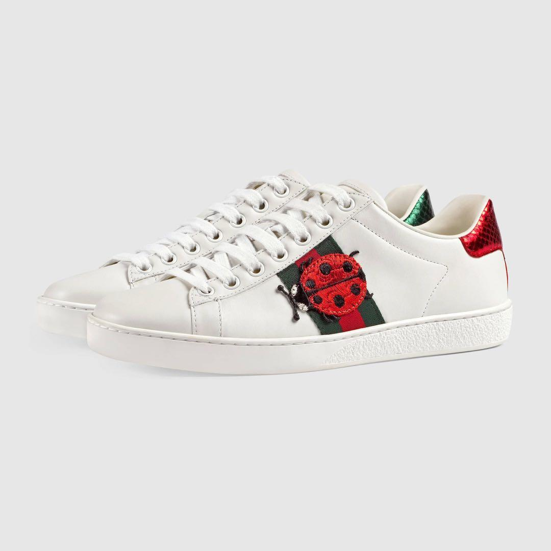 Gucci Pineapple Ace sneakers, Women's