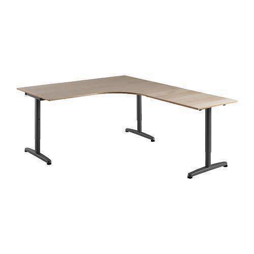 Superb Ikea Galant Table Desk Corner Right Extension Furniture Download Free Architecture Designs Terstmadebymaigaardcom