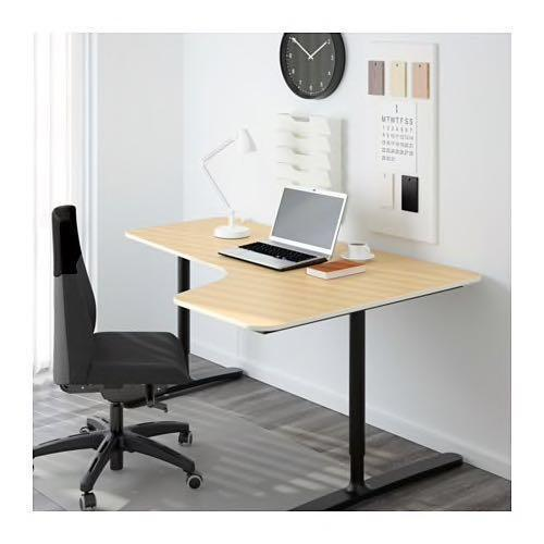 Astonishing Ikea Galant Table Desk Corner Right Extension Furniture Download Free Architecture Designs Terstmadebymaigaardcom