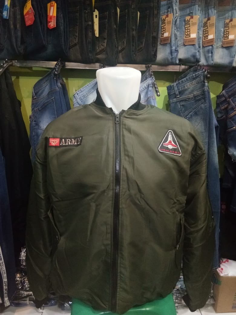 Jaket Bomber Army Pilot Premium Higt Quality Flight Jokowi Olshop Fashion Wanita Di Carousell