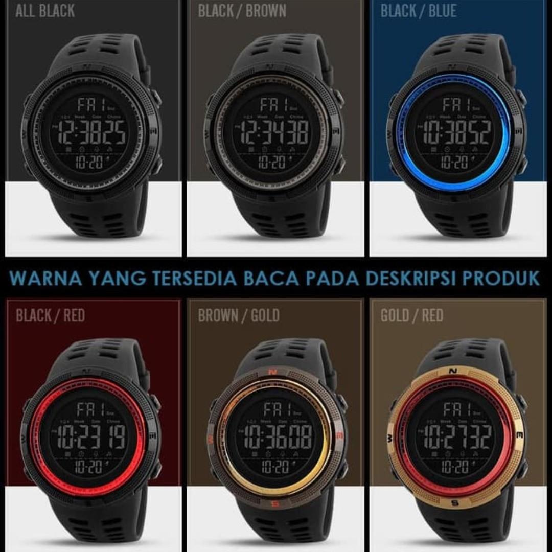 Harga Jual Jam Tangan Pria Cowok Casio Edifice Bmsilver Plat Hitam Chronoforce 5228mb Merah Digital Cowo Karet Sport Sporty Skmei 1251 Murah Original Best Seller