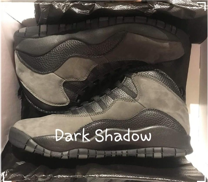 the latest d4dfa 2e673 Jordan 10 dark shadow 100% legit