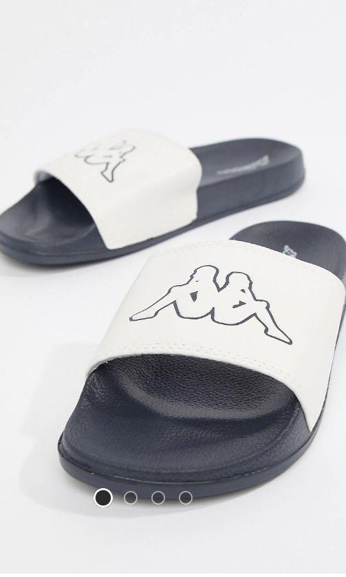 462c18f7e KAPPA LOGO SLIDES!!!, Men's Fashion, Footwear, Slippers & Sandals on ...