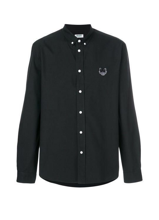 6d5cdabd Kenzo button down tiger shirt , Men's Fashion, Clothes, Tops on ...
