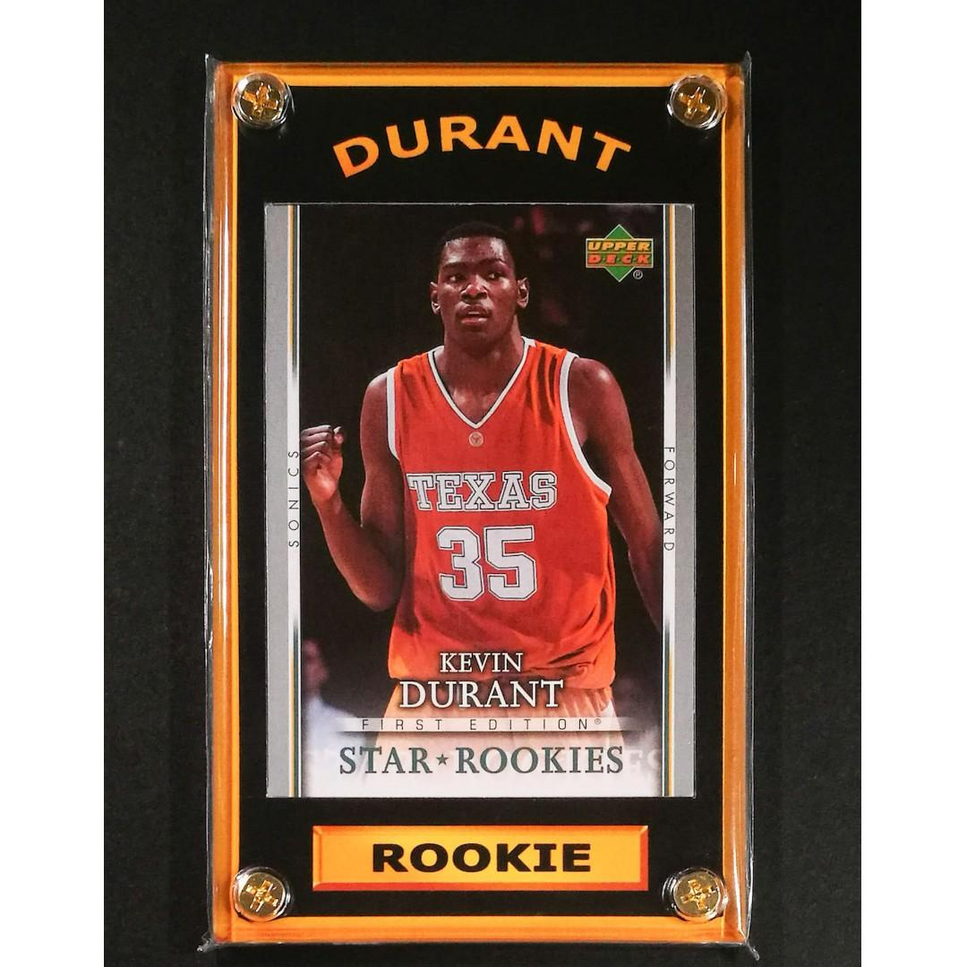 Kevin Durant Basketball Rookie Card Nba Finals Mvp On