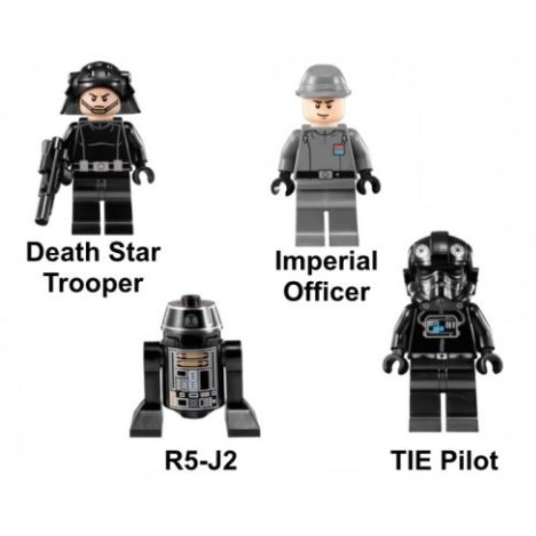 Lego Star Wars 9492 R5 J2 Death Star Trooper Imperial Officer
