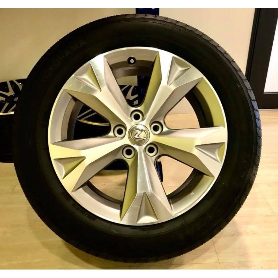 Lexus Original 18 Inch Rim Suitable For Toyota & Most