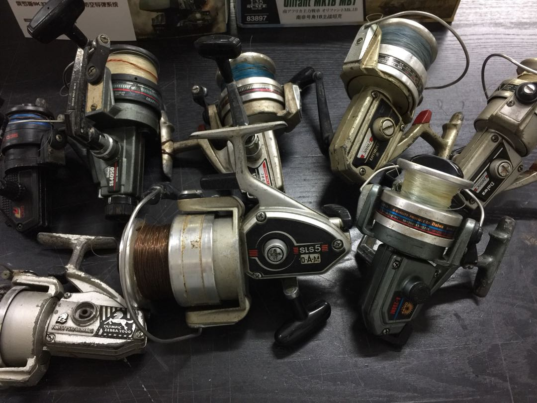 Lot Of 8 Vintage Fishing Reel Daiwa Spinning Sports Games Rel Equipment On Carousell