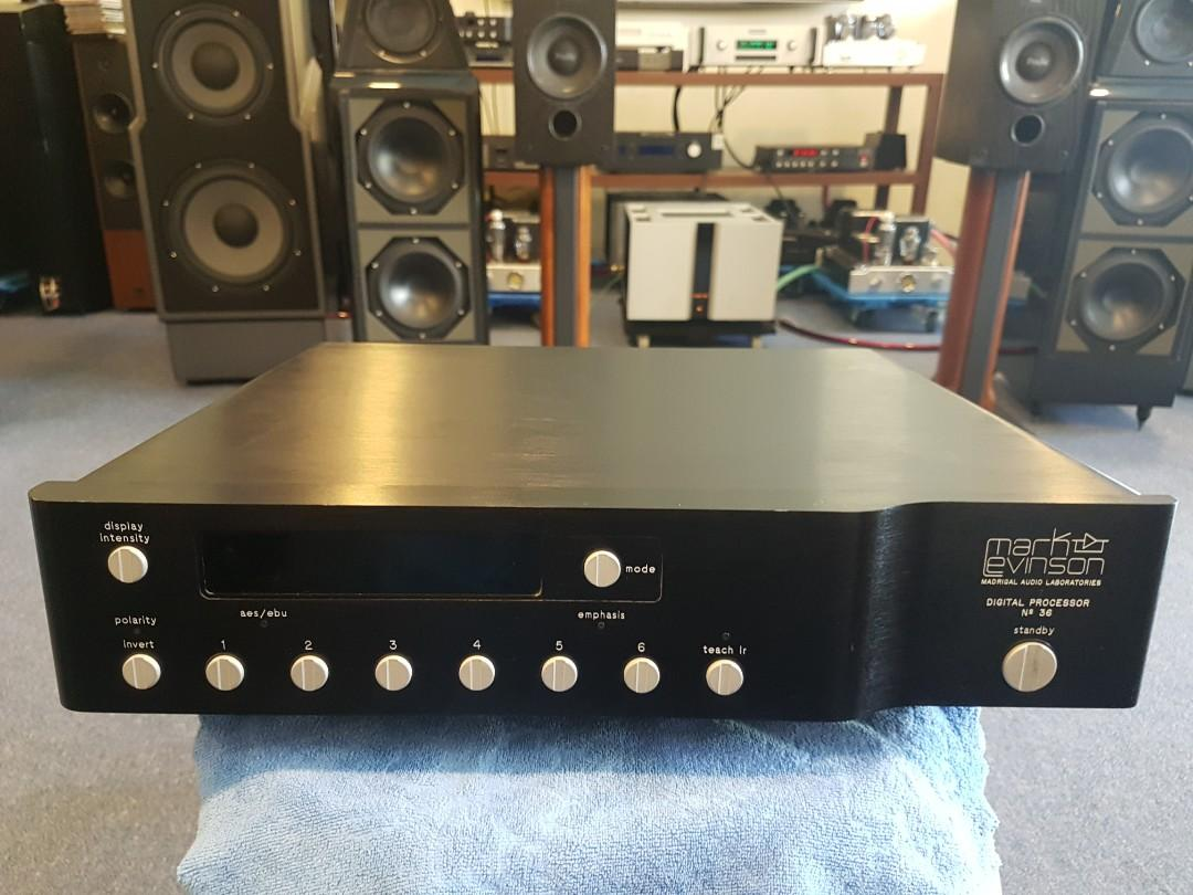 Mark levinson No 36 dac, Electronics, Audio on Carousell