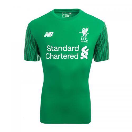 f09a3278305 New Balance Liverpool Goalkeeper Jersey 2017 2018