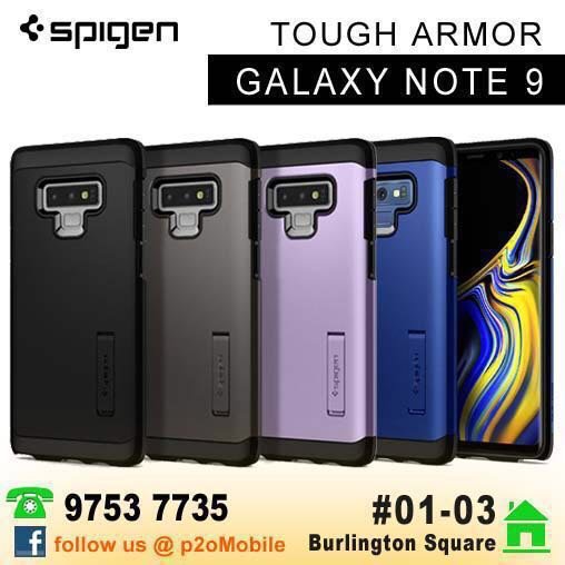 huge discount 2a0db c14ff [Note 9] Spigen Tough Armor for Samsung Galaxy Note 9