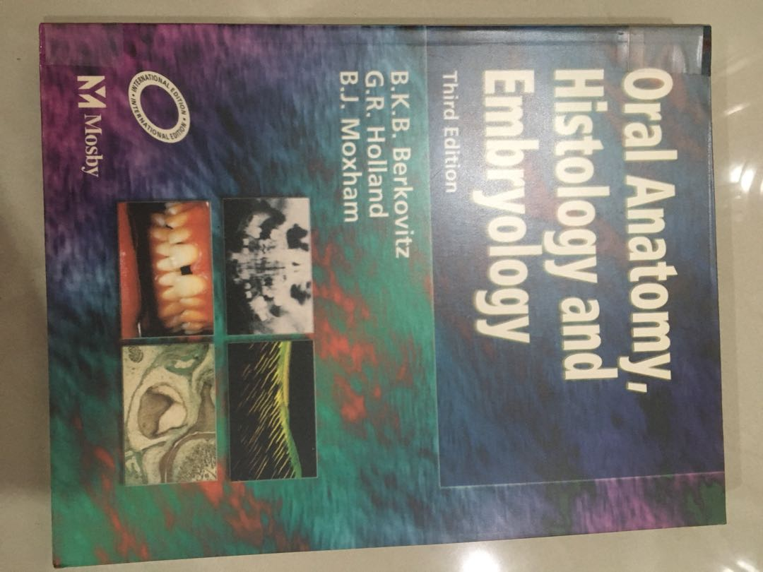 Oral Anatomy, Histology and Embryology, Peralatan Tulis, Buku di ...