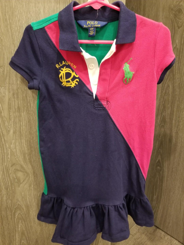 623dd13a9 Authentic Polo Ralph Lauren Dress, Babies & Kids, Girls' Apparel, 4 ...
