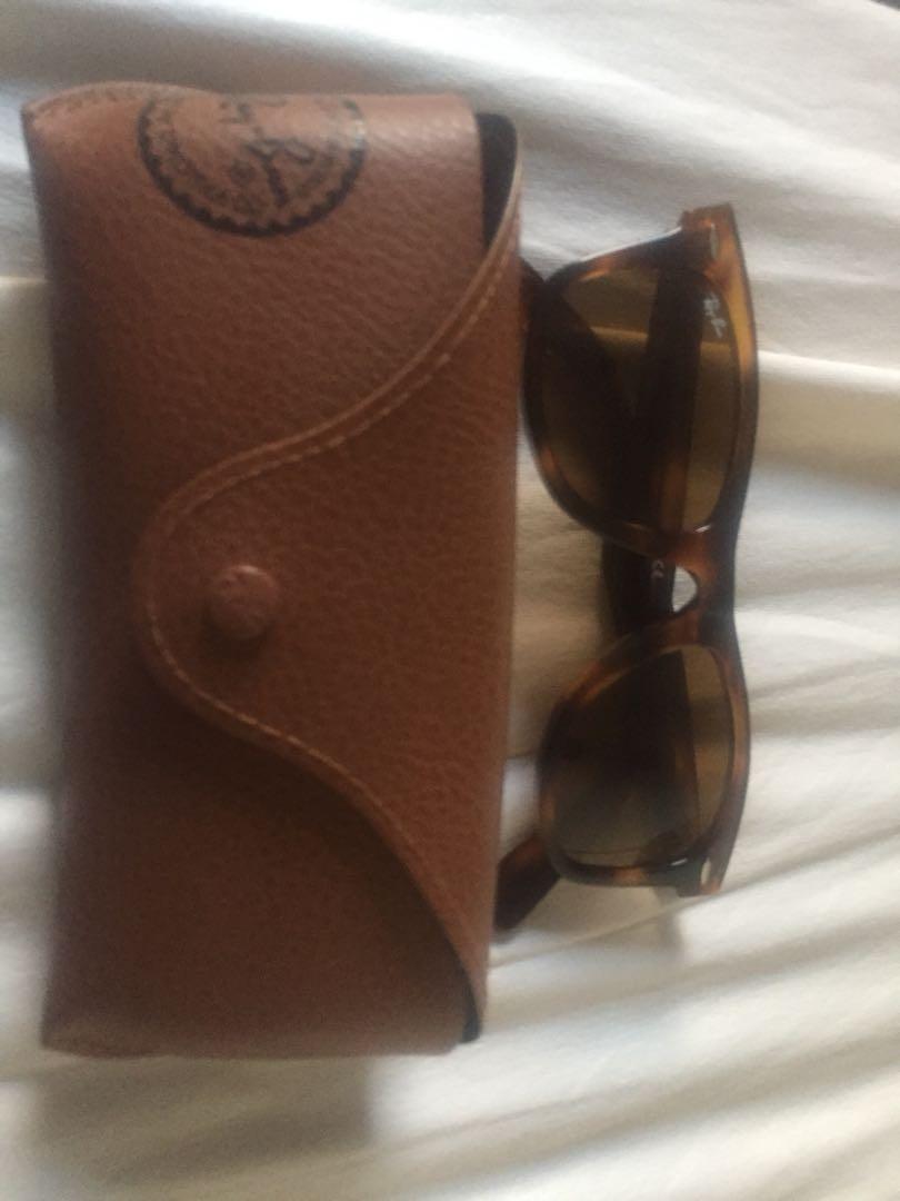 Rayban brown framed sunglasses original never worn