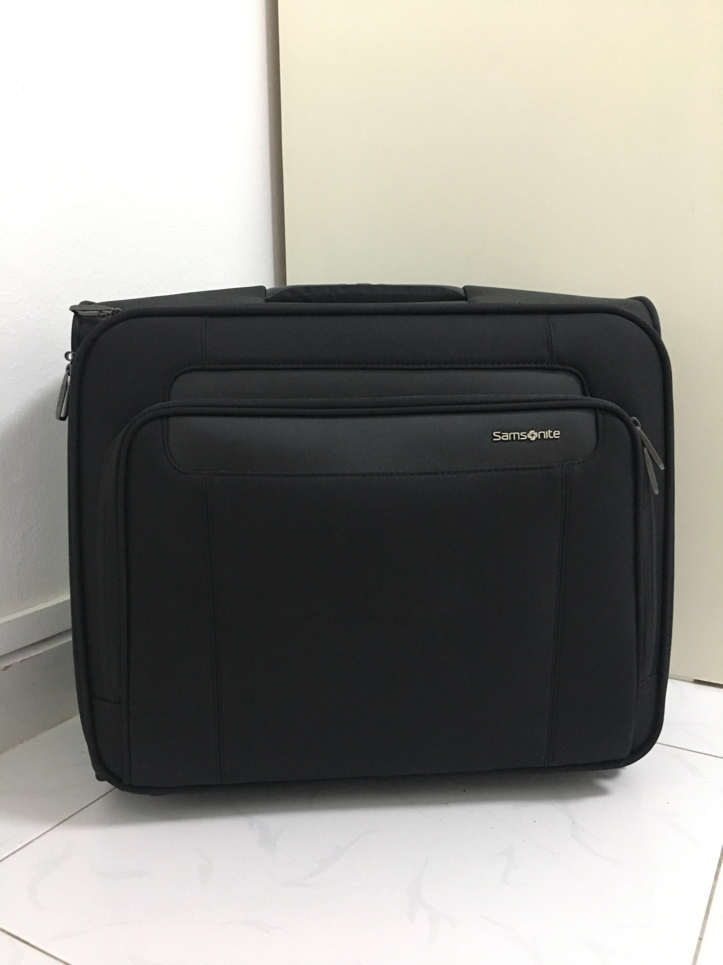 ef59cbeb9a9 SAMSONITE Rolling Tote, Travel, Travel Essentials, Luggage on Carousell