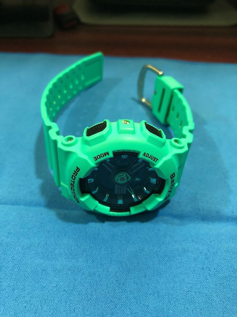 533eef6ac2b Selling Casio Baby-G watch (BA-111) Turquoise Green