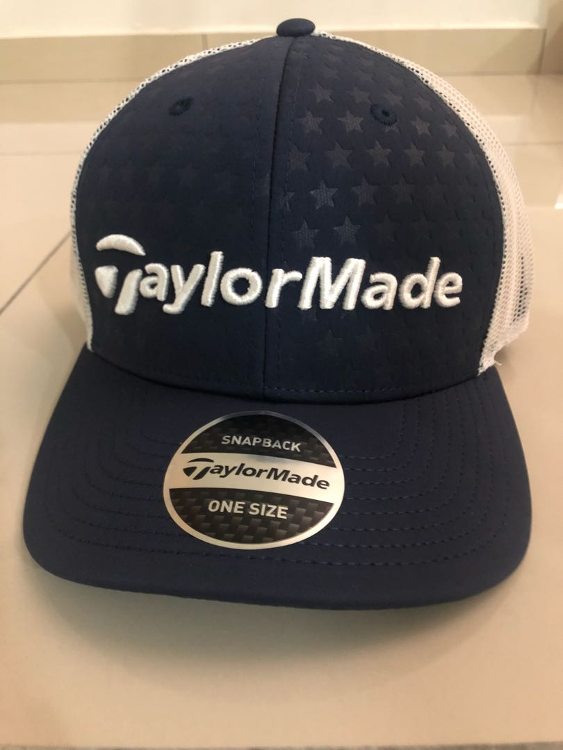24b5447e TaylorMade cap, Fesyen Lelaki, Aksesori, Topi di Carousell