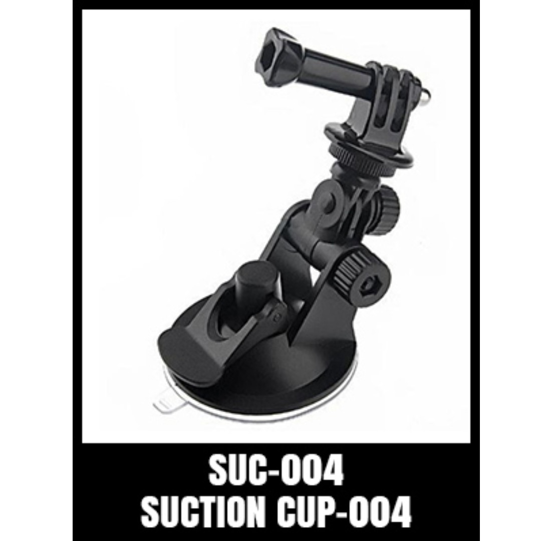 GOPRO MINI SUCTION CUP WITH TRIPOD MOUNT AND SCREW SUC-004