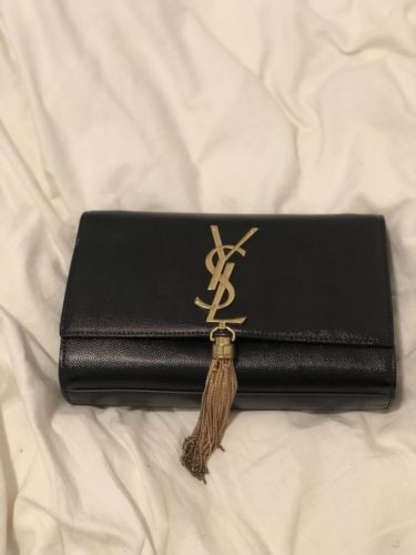 93d7906782459 YSL Yves Saint Laurent Sling/ Clutch Bag, Luxury, Bags & Wallets ...