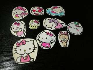 Assorted Hello Kitty Waterproof Stickers / Decal