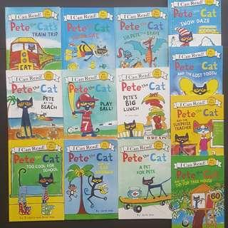 Pete the Cat I can Read books set of 10 or 13