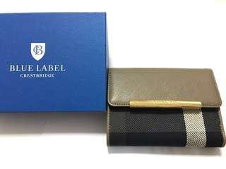 Blue Label 銀包 購置日本 全新未拆牌