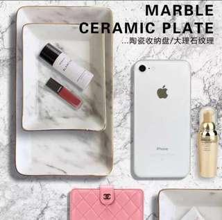 BN Marble Ceramic Tray Plate (In stock)