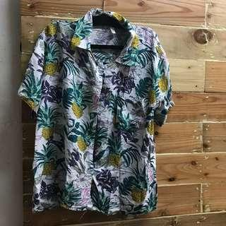 Summer Floral Polo