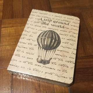Kraft travel notebook, bullet journal