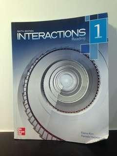Interactions Reading 1