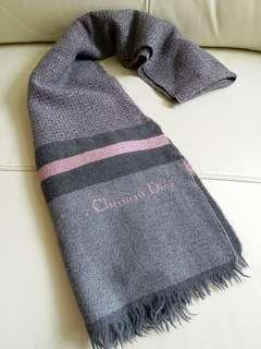 (一般厚度)Dior Vintage Scarf 頸巾 圍巾