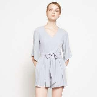 🚚 Intoxiquette Ophelia Sleeved Romper