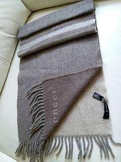 (加厚!加長!100%Cashmere)Gucci Vintage Scarf 頸巾 圍巾
