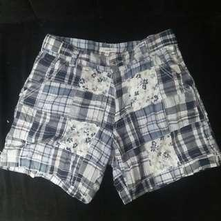 Bossini Floral Stripes Shorts