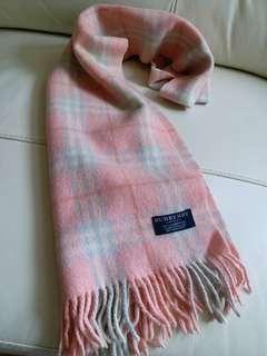 (微瑕疵特價)Burberry Vintage Scarf 頸巾 圍巾