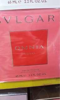 Authentic/Original Brand new Bvlgari Omnia Coral