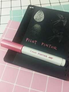 Pilot Pintor Metallic Pink Pen #3x100