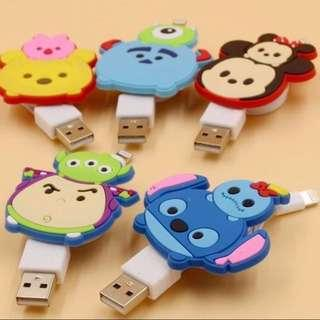 TSUMTSUM Lightning Cable For iPhone 5/6/7