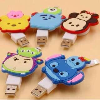 🚚 TSUMTSUM Lightning Cable For iPhone 5/6/7