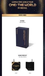 Wanna One World Tour [One:The World] in Kihno Video Loose Item
