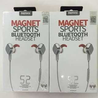 Remax  RM-S2 Magnet Sport Bluetooth Headset