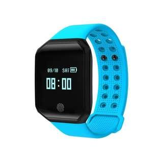 Z66 Fitness Tracker Watch Color OLED Screen Smart Bracelet Activity Trackers With Heart Rate Monitor Calories Track IP67 Waterproof For Women Men Kids