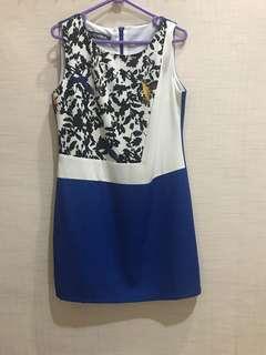 Dress Fashion Pesta Corak