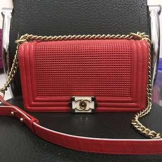 Chanel Le boy Red Second