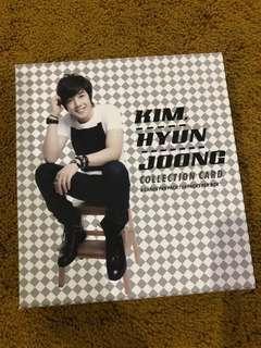Kim Hyun Joong Collection Card