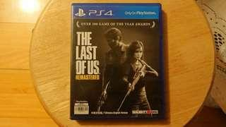 PS4 The Last Of Us Remastered 中英文合版