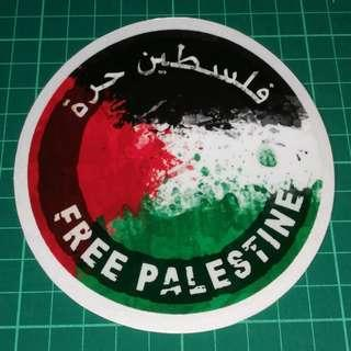 FREE PALESTINE SAVE GAZA Static Cling Decals. These are Not stickers. 11cm diameter. $6 each / 3 for $15. Free Normal Mail. Add $2.90 for AM Mail