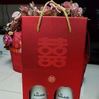 Wedding Guo Da Li Wine Box for Rent